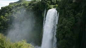 Cascata Delle Marmore waterfalls stock video