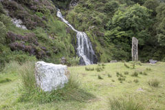 Cascata di Assaranca, Ardara, il Donegal, Irlanda fotografia stock