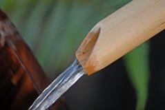 Cascata di bambù Fotografia Stock Libera da Diritti