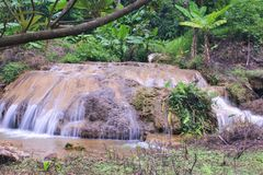 Cascata di Banlahu Immagine Stock