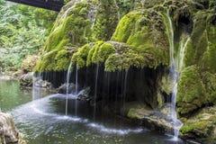 Cascata di Bigar Fotografia Stock