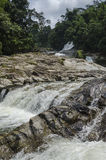 Cascata di Chamang, Bentong, Malesia fotografie stock libere da diritti