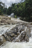 Cascata di Chamang, Bentong, Malesia immagine stock