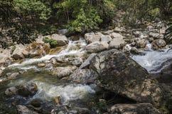 Cascata di Chamang, Bentong, Malesia immagini stock