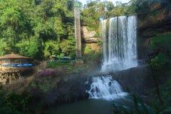Cascata di Dambri - in Lam Dong Vietnam Fotografia Stock