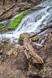 Cascata di Decorah Iowa Fotografia Stock