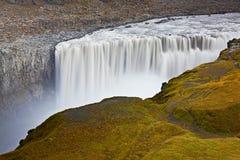 Cascata di Dettifoss, Islanda fotografia stock libera da diritti