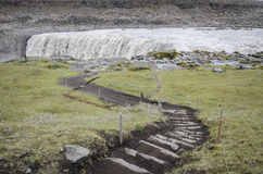 Cascata di Dettifoss, Islanda Immagine Stock Libera da Diritti