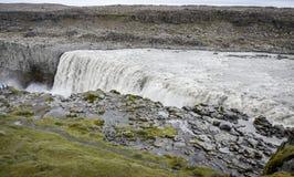 Cascata di Dettifoss, Islanda Fotografie Stock Libere da Diritti