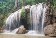 Cascata di Erawan Immagine Stock