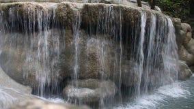 Cascata di Erawan stock footage