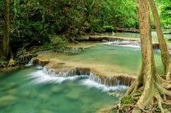 Cascata di Erawan fotografia stock libera da diritti