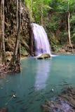 Cascata di Erawan, Tailandia Fotografia Stock Libera da Diritti
