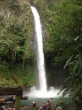 Cascata di Fortuna della La, Costa Rica Immagini Stock Libere da Diritti