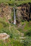 Cascata di Gamla in Israele Fotografia Stock Libera da Diritti