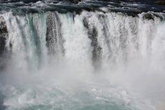 Cascata di Godafoss Fotografia Stock