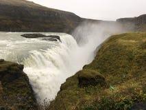 Cascata di Gulfoss Islanda immagini stock libere da diritti