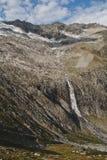 Cascata di Habachtal Immagine Stock Libera da Diritti