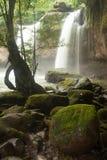 Cascata di Haew Suwat nel parco nazionale di Khao Yai, Tailandia Fotografie Stock Libere da Diritti