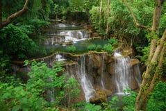 Cascata di HuaiMaeKhamin Fotografia Stock Libera da Diritti