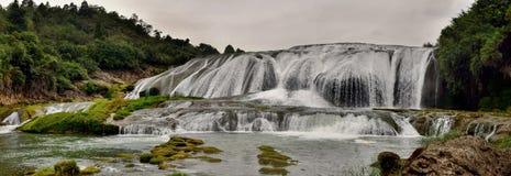 Cascata di Huangguoshu nella provincia di Guizhou in Cina fotografia stock libera da diritti