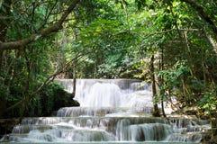 Cascata di Huay Mae Kamin Immagini Stock Libere da Diritti