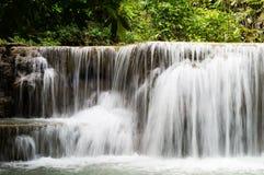 Cascata di Huay Mae Kamin Fotografia Stock