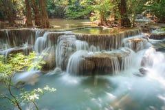 Cascata di Huaymaekamin fotografie stock libere da diritti