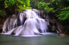 Cascata di Huaymaekamin fotografia stock libera da diritti