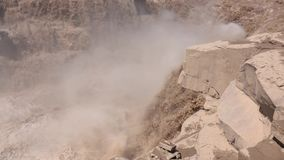 Cascata di Hukou stock footage