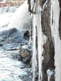 Cascata di Icey Fotografia Stock