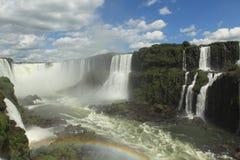 Cascata di Iguazu Fotografia Stock