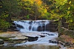 Cascata di Ithaca Fotografia Stock
