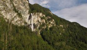 Cascata di Jungfernsprung vicino a Heiligenblut Immagini Stock Libere da Diritti
