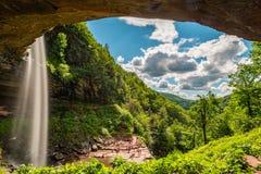 Cascata di Kaaterskill a upstate New York fotografia stock