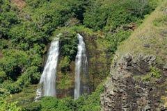 Cascata di Kauai Immagini Stock Libere da Diritti