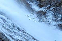 Cascata di Klokov su Sakhalin Immagini Stock Libere da Diritti