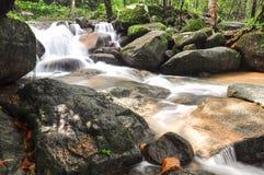 Cascata di Krating in Tailandia Fotografie Stock