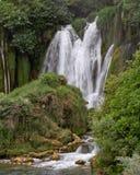 Cascata di Kravica in Bosnia-Erzegovina fotografia stock