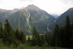 Cascata di Krimmler, Austria Fotografia Stock
