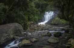 Cascata di Lakkom vicino a Munnar, Kerala, India Fotografie Stock Libere da Diritti