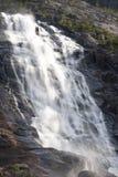 Cascata di Langfossen fotografie stock