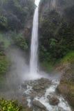 Cascata di Machay (conosciuta come pure cascata di EL Rocio) Immagine Stock
