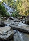Cascata di Mae Ya in Chiang Mai, Tailandia Immagini Stock Libere da Diritti