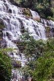 Cascata di Mae Ya in Chiang Mai, Tailandia Fotografie Stock Libere da Diritti