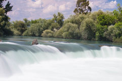 Cascata di Manavgat Immagini Stock Libere da Diritti