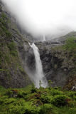 Cascata di Mardalfossen, Norvegia Fotografia Stock