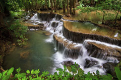 Cascata di minuto del Ka di mae di Huay Immagine Stock Libera da Diritti