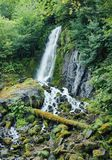 Cascata di Mountly Fotografia Stock Libera da Diritti