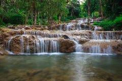 Cascata di Ngao, lampang, Tailandia Fotografia Stock Libera da Diritti